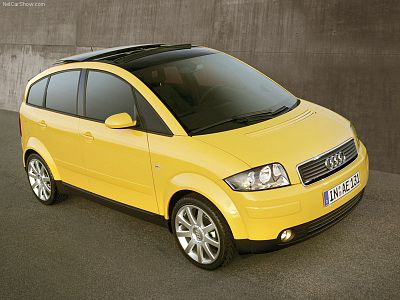 Chiptuning Audi A2 (8Z) (2000-2005)