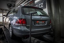 Reference - chiptuning Volkswagen Golf 6 1.6 TDI CR 77kW