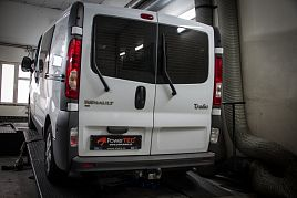 Reference - chiptuning Renault Trafic 2.0 DCI 84kW