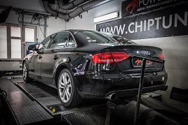 Reference - chiptuning Audi A4 3.0 TDI CR 176kW