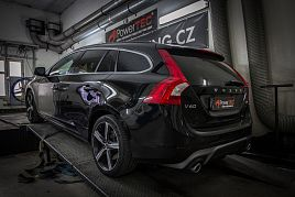 Reference - chiptuning Volvo V60 2.0 D4 (400Nm) 140kW